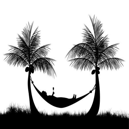Hammock at the beach after a hard days work