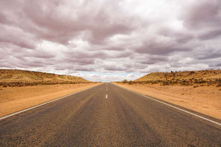 travelling along the North West Coastal Highway in Western Australia 写真素材