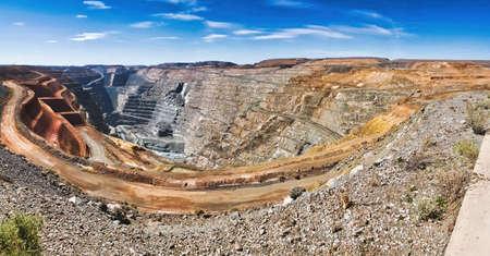 Super Pit at Kalgoorlie; Western Australia