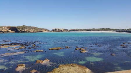 美丽的stringray海湾在维多利亚澳大利亚