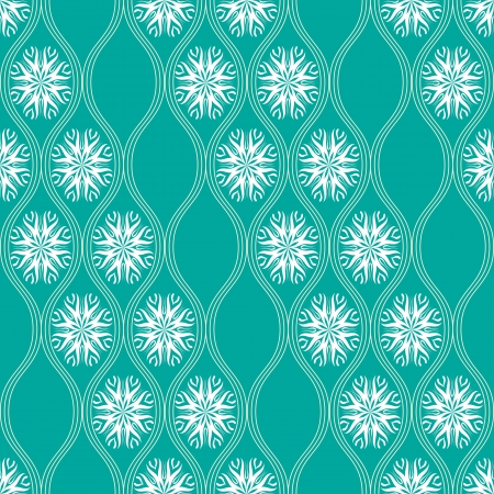 Abstract floral seamless pattern in japanese style Illustration