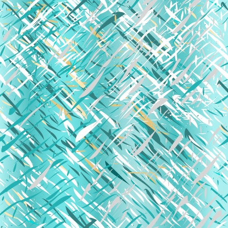 chaotic: Blue stripy abstract pattern with chaotic scratches