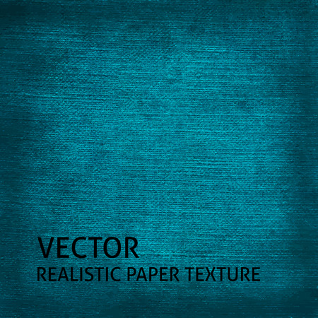 textured paper: Blue textured paper vector background. Grunge paper texture for your design.