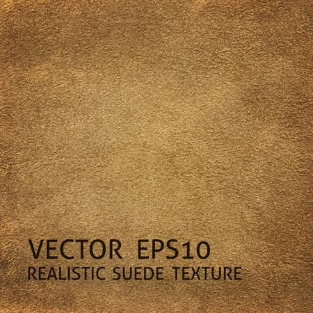 Closeup beige suede texture, realistic background