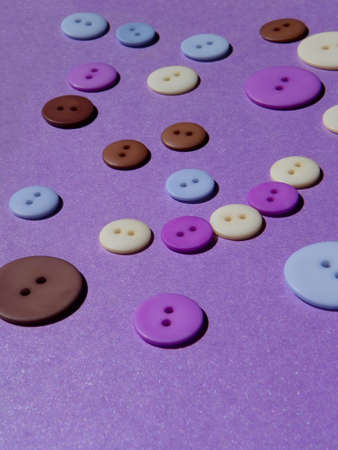 buttons on purple background 版權商用圖片