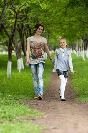 lightsome: girls Stock Photo