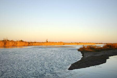 river  Ili Kazakhstan Stock Photo - 14083397