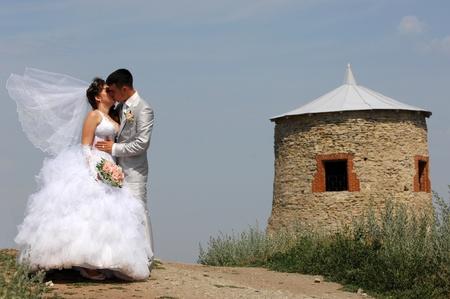 wedding couple photo
