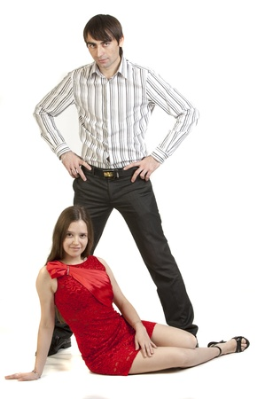 attractive couple Stock Photo - 16442171