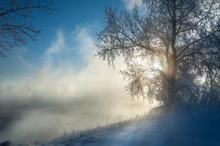 River winter in Russia. Tatarstan Kama Stock Photo - 16874159