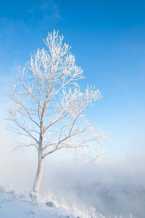 River winter in Russia. Tatarstan Kama Stock Photo - 17074674