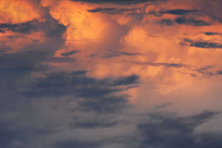 Clouds in the sky photographed Stock Photo - 17246632