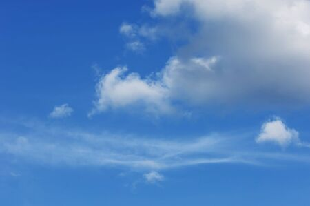 Clouds in the sky photographed Stock Photo - 17246624
