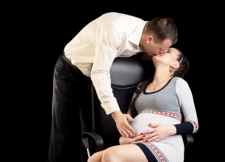 He and shes pregnant  photo