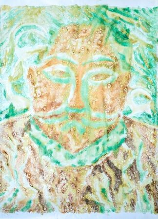 rock painting: Prehistoric Petroglyphs - Rock Art. Famous prehistoric rock paintings. Cave rock painting tribal.