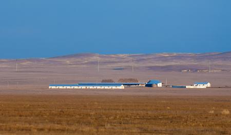 steppe: steppe Stock Photo