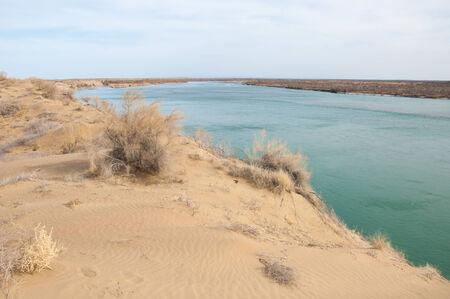 perianth: river Stock Photo