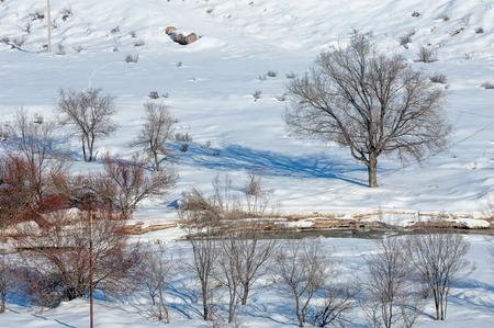 granizados: nieve, aguanieve
