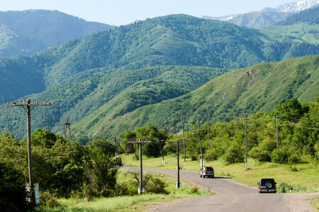 Tien Shan mountains. Assy plateau. Turgen gorge. Zailiyskoe Alatau, plateau Assy-Turgen photo