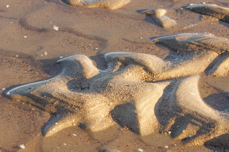 sand, grit, wash, The sand on the river, a small, loose photo