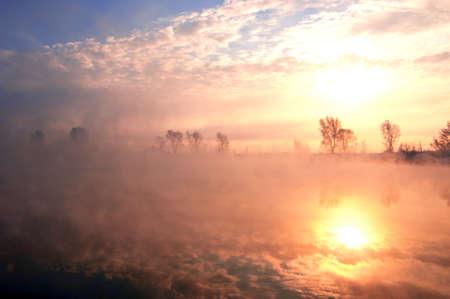 River in Russia. photo