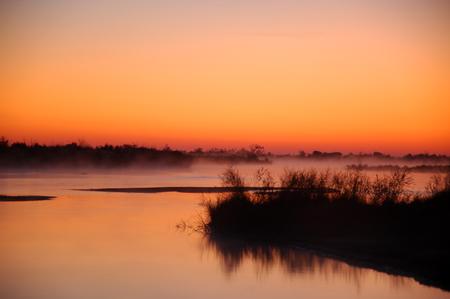 cane creek: River Ili in Kazakhstan.