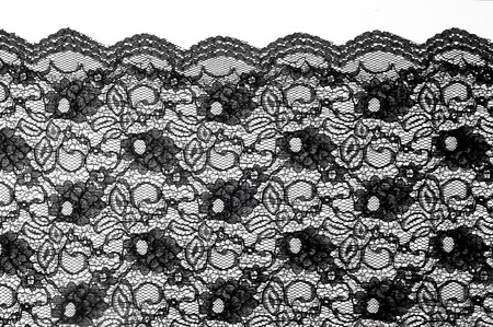 Texture. lace on the fabric. Photo lace fabric produced in the studio
