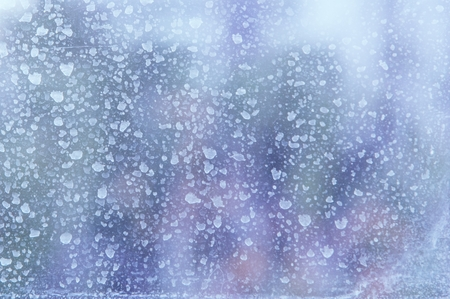 dirty window. Dirty window glass spray photo