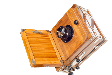 The old camera. texture. Photographed in the studio photo