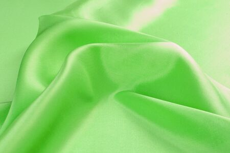 taken: Green textiles. Photo taken in the studio Stock Photo