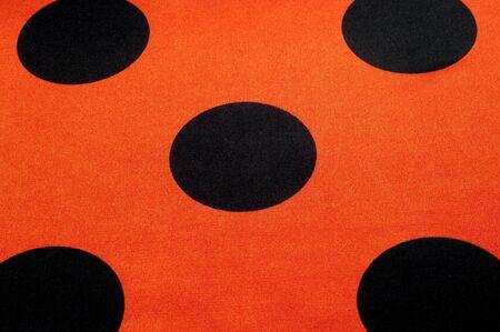red polka dots: Tela lunares rojos, textil, tela, tela, material, textura. o se relacione con tela o tejido.