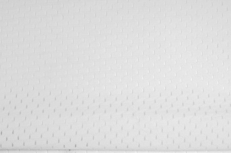 Fabric color is white with holes. Texture. Photography Studio photo
