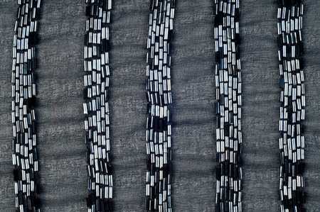 Fabric Color black with beads.  Photography Studio. texture. ebon, sable, smutty. of the very darkest color owing to the absence of or complete absorption of light; the opposite of white photo