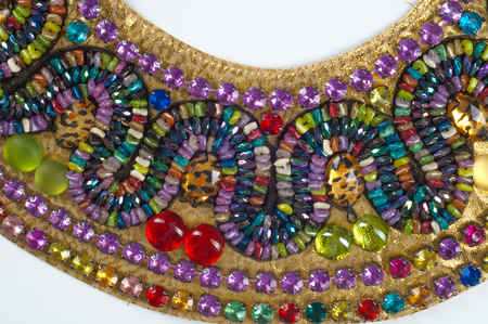 mohammedan: Jewellery Egyptian priestesses. photo studio