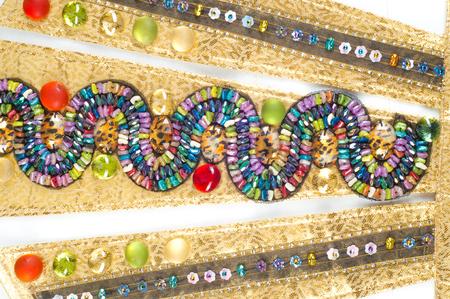 Jewellery Egyptian priestesses. photo studio