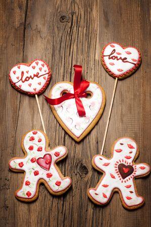 Cookies Valentines Day. Photography Studio photo