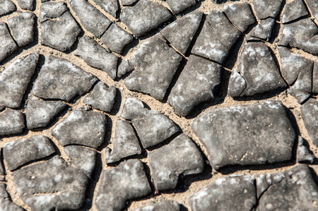 naphtha: tar, petroleum,  The texture of the old tar. Stock Photo