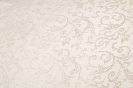 Fabric silk texture, cream, cream-colored, cream-coloured, pale beige.