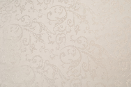 Fabric silk texture, cream, cream-colored, cream-coloured, pale beige.