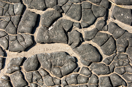 asphalt shingles: tar, petroleum,  The texture of the old tar. Stock Photo