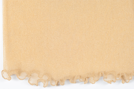 zinnwaldite brown: The texture of the silk fabric of beige color. Almond