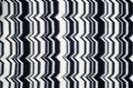 wool texture: Missoni fabric wool texture Stock Photo