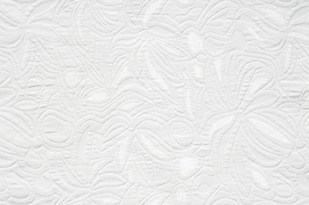 White fabric texture. Chevron Blanket-Weight Fabric. Valiant White Fabric. Abstract Swirl Microfiber Upholstery Fabric By The Yard Banco de Imagens