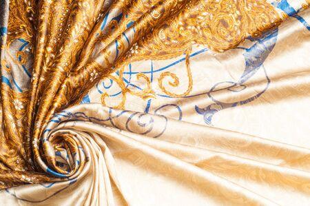 tela seda: Tela de seda de la textura. dibujo abstracto,