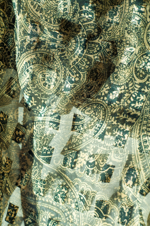 satiny cloth: Silk fabric texture, abstract pattern
