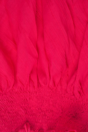 lustful: Silk fabric texture, red