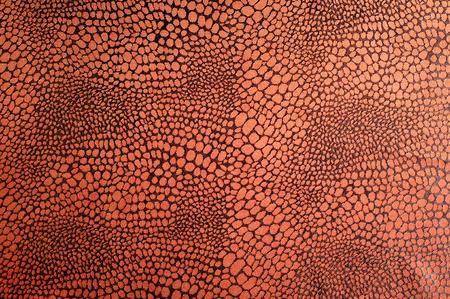 テクスチャ絹の布。ブラウン柄