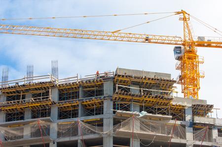 construction, building, development, constructing. Stock Photo