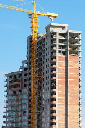 atmosphere construction: construction, building, development, constructing. Stock Photo