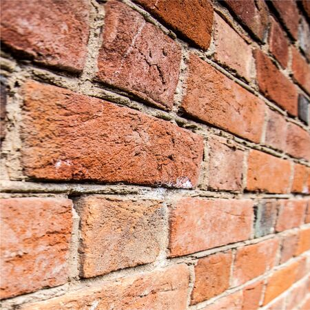 brick building: texture of bricks. Texture of old brick building
